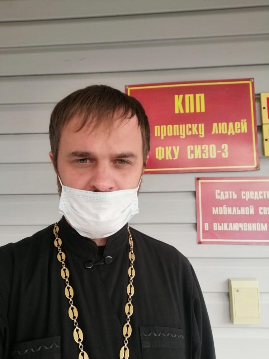 клирик епархии провел беседу с заключенными СИЗО 3 города Уссурийска