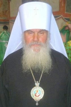 Фото. Митрополит Владивостокский и Приморский Вениамин