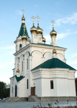 Фото. Уссурийск. Новый Свято-Никольский храм