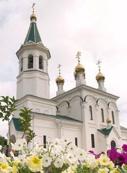 Фото. Уссурийск. Храм святителя Николая Чудотворца