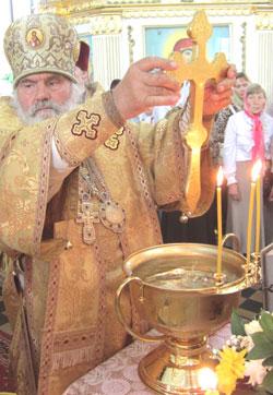 Фото. Приморский край. Архиепископ Владивостокский и Приморский Вениамин