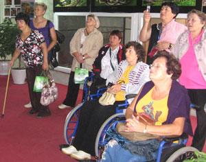 Фото. Хуньчунь (КНР). Инвалиды-спинальники из Приморья совершают поездку по приграничному Китаю