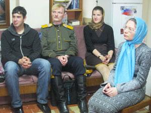 Фото. Владивосток. Встреча православных волонтеров