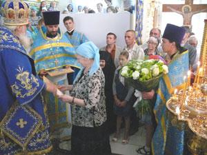 Фото. Владивосток. Праздник Успения Пресвятой Богородицы в Успенском храме.