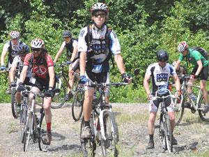 Фото. Дальний Восток. Участники крестного велопробега Сахалин – Приморье преодолели за две недели более 1100 км.