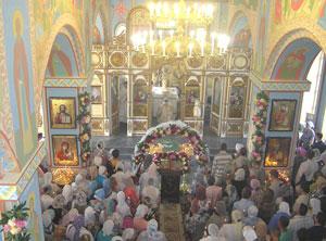 Фото. Спасск-Дальний. Внутреннее убранство нового храма Вознесения Господня