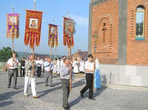 Фото. Спасск-Дальний. Крестный ход в день освящения Вознесенского храма