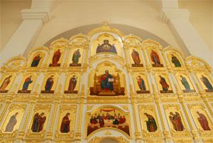 Фото, иконостас Покровского собора