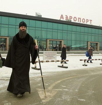 Фото. Владивосток. Епископ Уссурийский Иннокентий прибыл во Владивосток