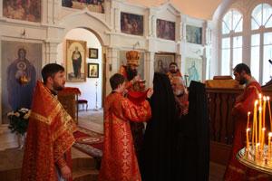 Фото. Владивосток. Монастырский храм на Седанке встретил престольный праздник