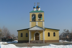Фото. Уссурийск, храм прп. Серафима Саровского