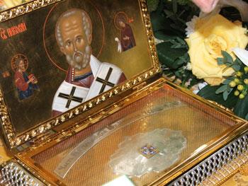 В Одессе зафиксированы первые исцеления от мощей Святого Николая