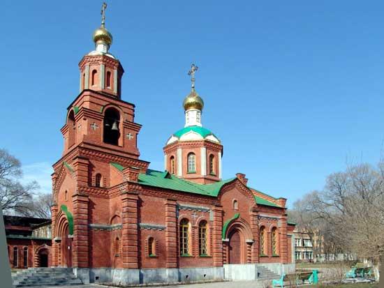 Храм святых равноапостольных кирилла и мефодия владивосток