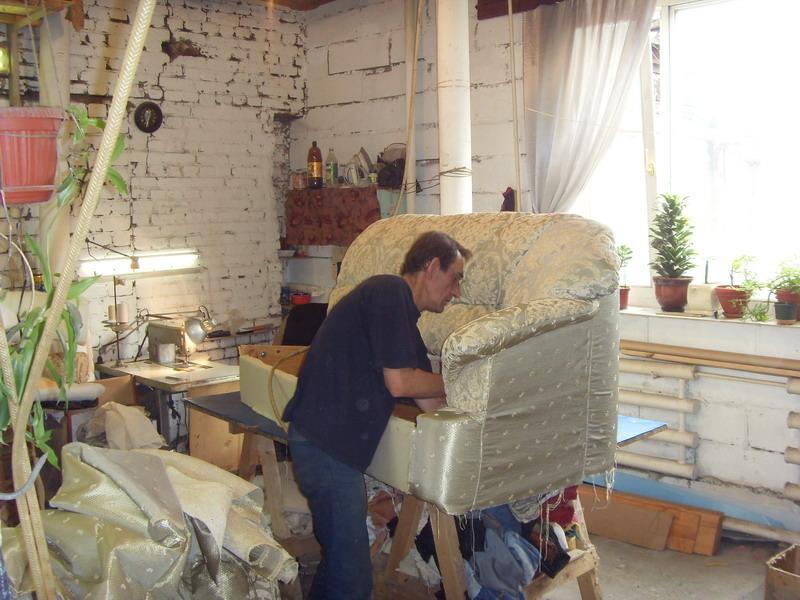 Мебель перетяжка своими руками