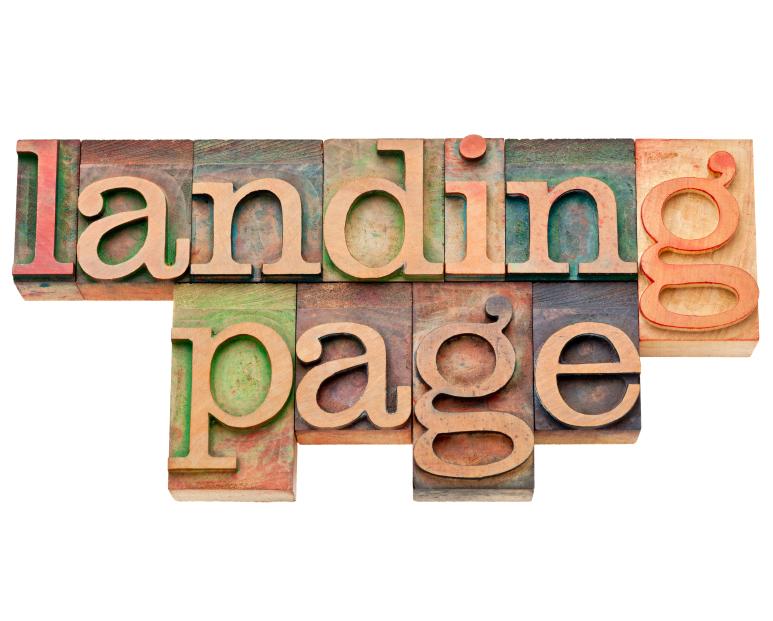 Что такое landing page
