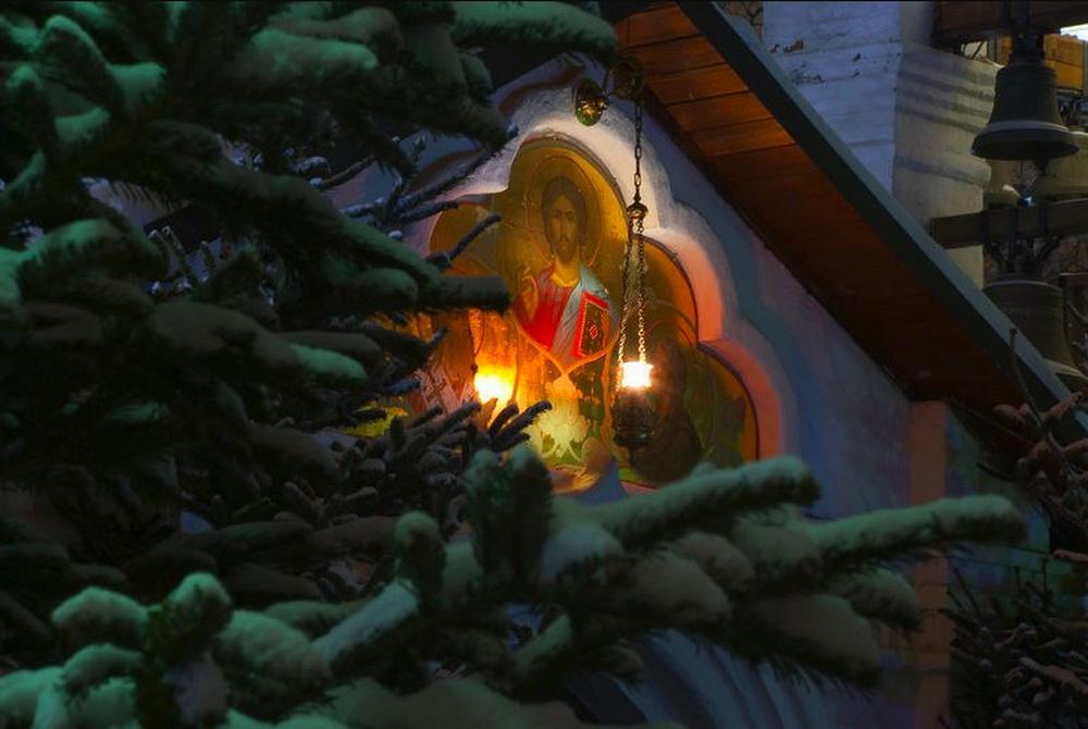 Новогодние картинки православные, дню земли